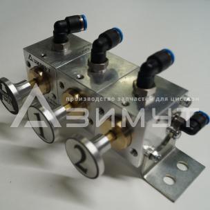 Фото: Пневматический блок управления донными клапанами ПБУ-01-02