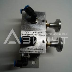 Фото: Пневматический блок управления донными клапанами ПБУ-01-01